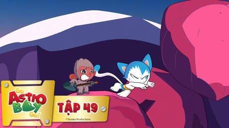 Go Astro Boy Go! - Tập 49: Vấn đề của những chú khỉ