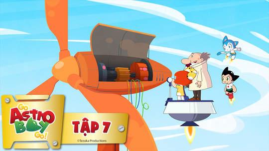 Go Astro Boy Go! - Tập 7: Tắt công nghệ đi