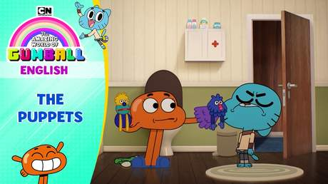 Gumball English - Ep 126: The puppets