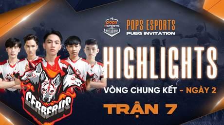 Highlights VCK Ngày 2 - Trận 7