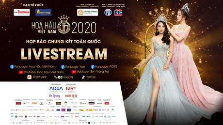 Hoa Hậu Việt Nam 2020 - Họp báo chung kết