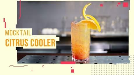 Hướng Nghiệp Á Âu - Học Pha Chế: Cách làm mocktail citrus cooler
