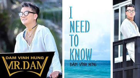 Đàm Vĩnh Hưng - Lyrics video: I need to know