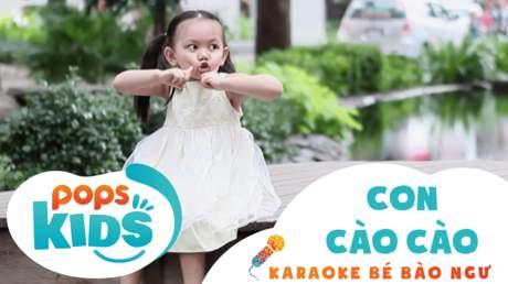 Karaoke bé Bào Ngư - Con cào cào