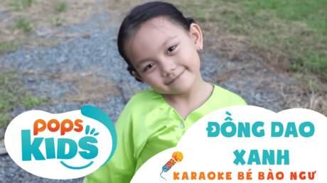 Karaoke bé Bào Ngư - Đồng dao xanh