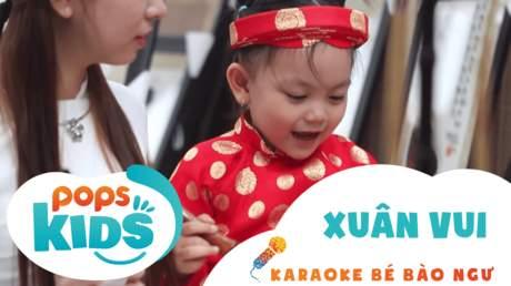 Karaoke bé Bào Ngư - Xuân vui