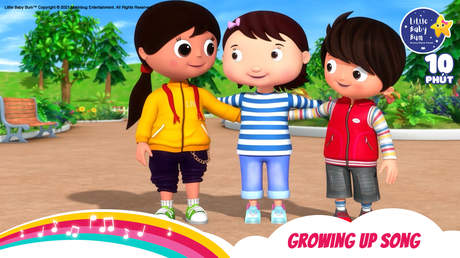 Little Baby Bum - Superclip 10: Growing Up Song