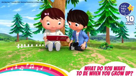Little Baby Bum - Superclip 12: What Do You Want To Be When You Grow Up?