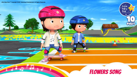 Little Baby Bum - Superclip 15: Flowers Song
