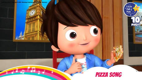 Little Baby Bum - Superclip 17: Pizza Song