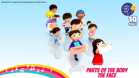 Little Baby Bum - Superclip 19: Parts Of The Body - The Face