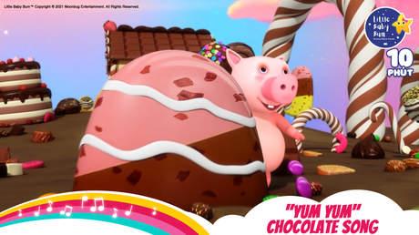 "Little Baby Bum - Superclip 1: ""Yum Yum"" Chocolate Song"