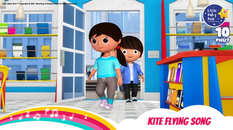 Little Baby Bum - Superclip 23: Kite Flying Song