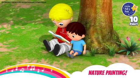 Little Baby Bum - Superclip 26: Nature Painting!