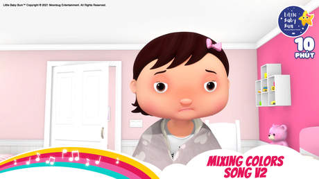 Little Baby Bum - Superclip 28: Mixing Colors Song V2