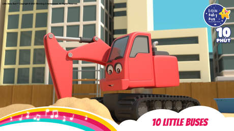 Little Baby Bum - Superclip 34: New Look - 10 Little Buses