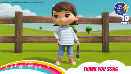 Little Baby Bum - Superclip 35: Thank You Song