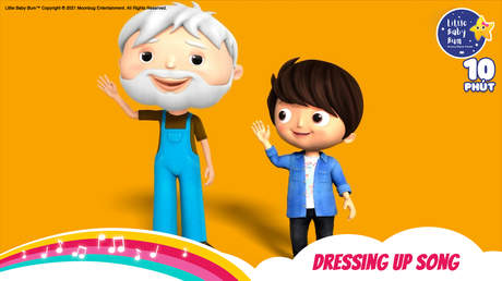 Little Baby Bum - Superclip 4: Dressing Up Song