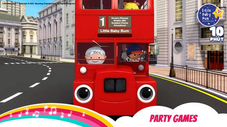 Little Baby Bum - Superclip 5: Party Games