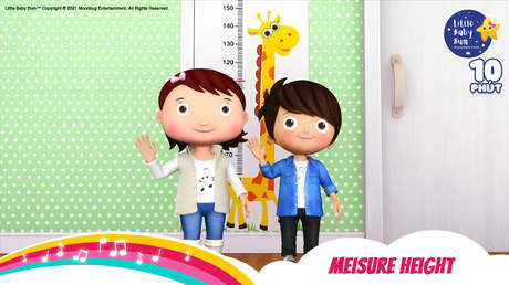 Little Baby Bum - Superclip 7: Measure Height