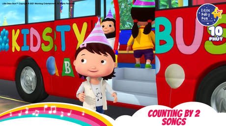 Little Baby Bum - Superclip 9: Counting By 2 Song
