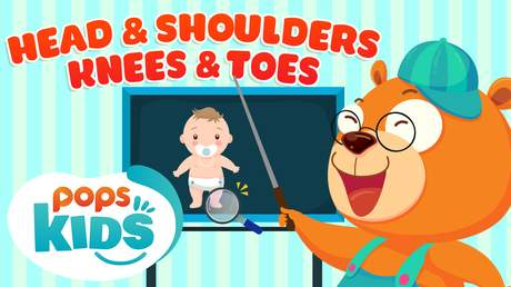 Mầm Chồi Lá tiếng Anh - Head and shoulders, knees and toes