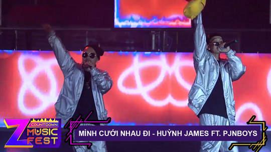 Mình cưới nhau đi - Huỳnh James x Pjnboys [Z Countdown Music Fest 2020]