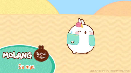 Molang - My best friend - Tập 60: Sa mạc