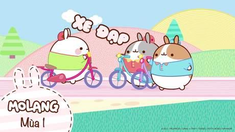 Molang S1 - Tập 2: Xe đạp