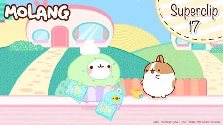 Molang Superclip - Tập 17: Tiệm bánh cupcake