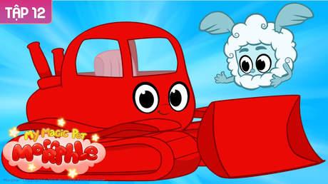 My Magic Pet Morphle - Tập 12: Xe ủi màu đỏ của tôi và thú cưng kỳ diệu Atmo