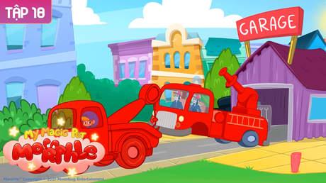 My Magic Pet Morphle - Tập 18: Xe tải cần cẩu màu đỏ và băng trộm bánh xe