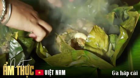 Nét ẩm thực Việt - Gà hấp cải
