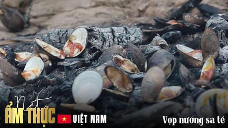 Nét ẩm thực Việt: Vọp nướng sa tế