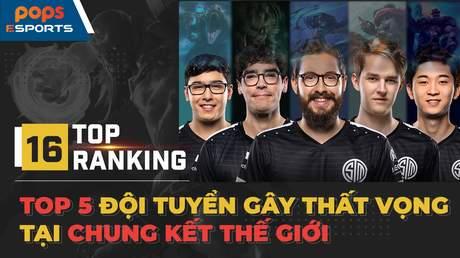 Top 5 đội tuyển gây thất vọng tại các kỳ CKTG