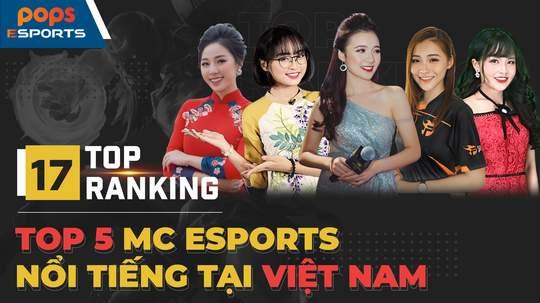 Top 5 MC eSports nổi tiếng tại Việt Nam