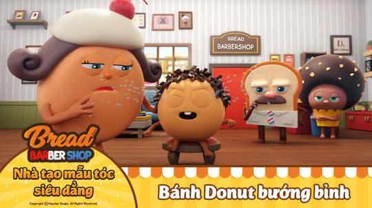 Nhà tạo mẫu tóc siêu đẳng - Tập 2: Bánh Donut bướng bỉnh
