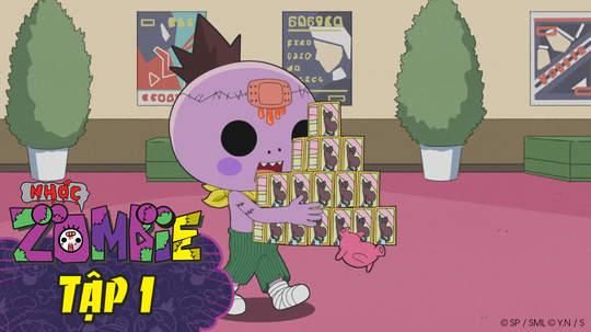 Nhóc Zombie - Tập 1: Buổi xem phim