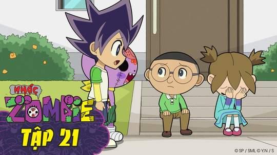 Nhóc Zombie - Tập 21: Trò chơi bóng ném
