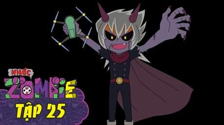 Nhóc Zombie - Tập 25: Bùa chú bóng đêm