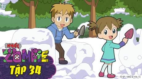 Nhóc Zombie - Tập 34: Nghệ thuật mới mẻ
