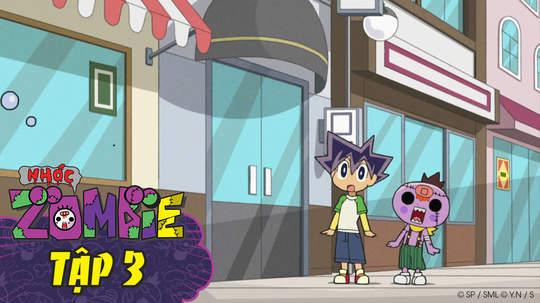 Nhóc Zombie - Tập 3: Vô địch đánh rắm