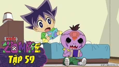 Nhóc Zombie - Tập 59: Zombie máy game