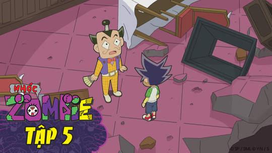 Nhóc Zombie - Tập 5: Rong cá ngừ