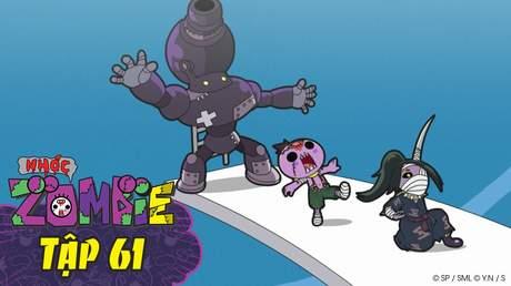Nhóc Zombie - Tập 61: Cuộc thách đấu zombie