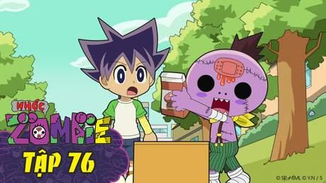 Nhóc Zombie - Tập 76: Chiếc hộp siêu rắc rối
