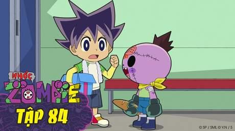 Nhóc Zombie - Tập 84: Cú đấm. Cánh tay bí mật