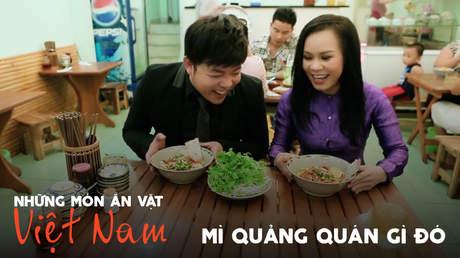 Những món ăn vặt Việt Nam: Mì Quảng quán Gì Đó