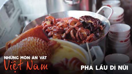Những món ăn vặt Việt Nam: Phá lấu Dì Nũi