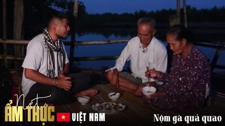 Nét ẩm thực Việt: Nộm gà quả quao
